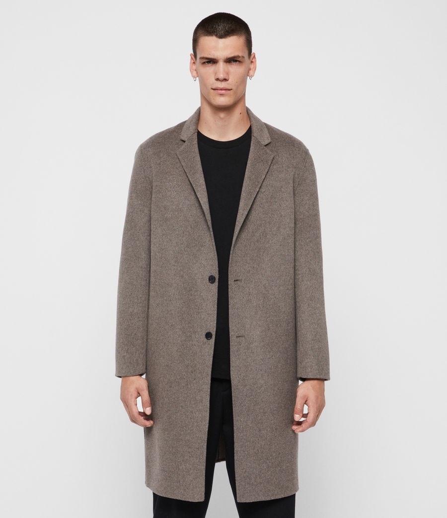 Mens Hanson Coat (thunder_grey_marl) - Image 1
