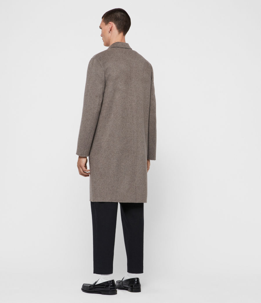 Mens Hanson Coat (thunder_grey_marl) - Image 6