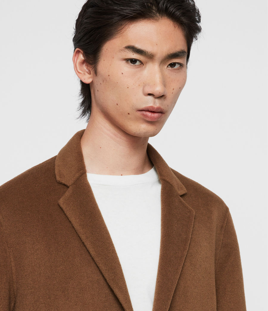 Men's Hanson Coat (ochre_brown) - Image 2