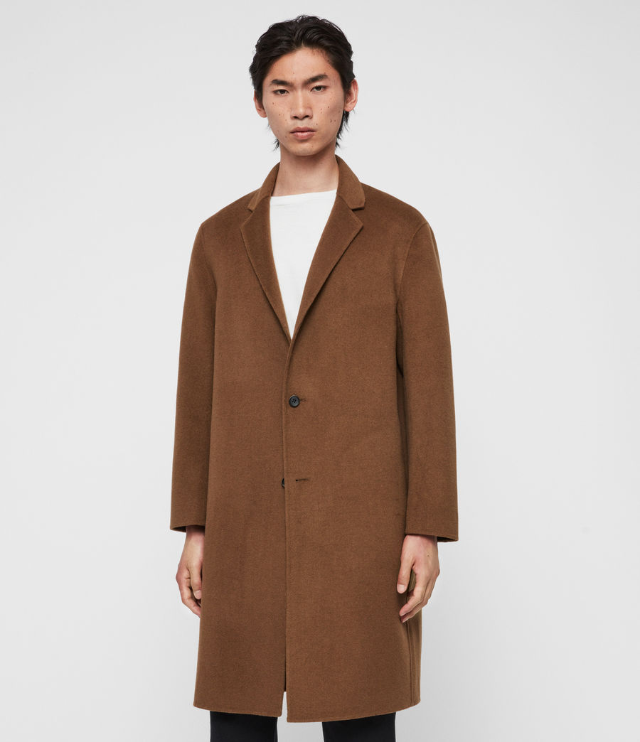 Men's Hanson Coat (ochre_brown) - Image 3