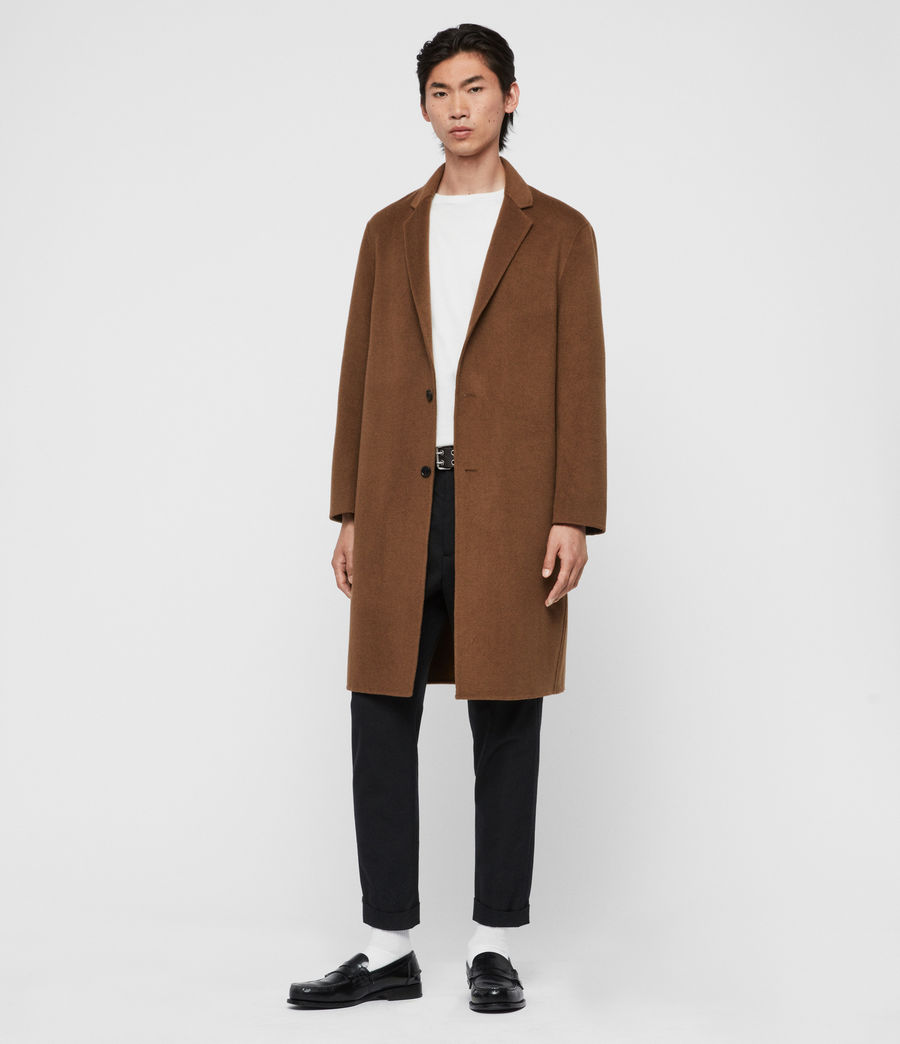 Men's Hanson Coat (ochre_brown) - Image 4