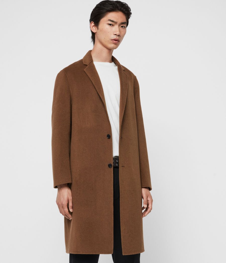 Men's Hanson Coat (ochre_brown) - Image 5