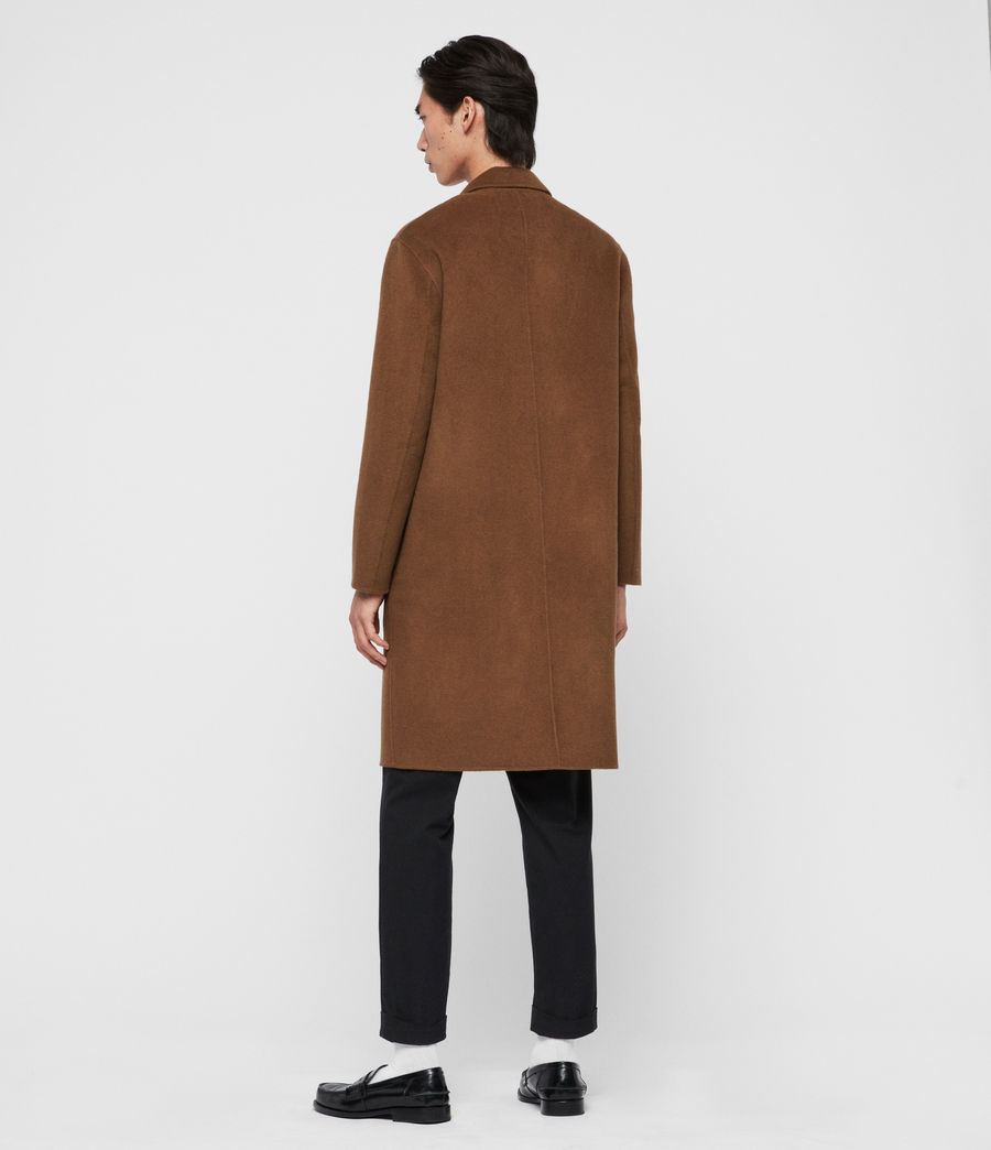 Men's Hanson Coat (ochre_brown) - Image 6