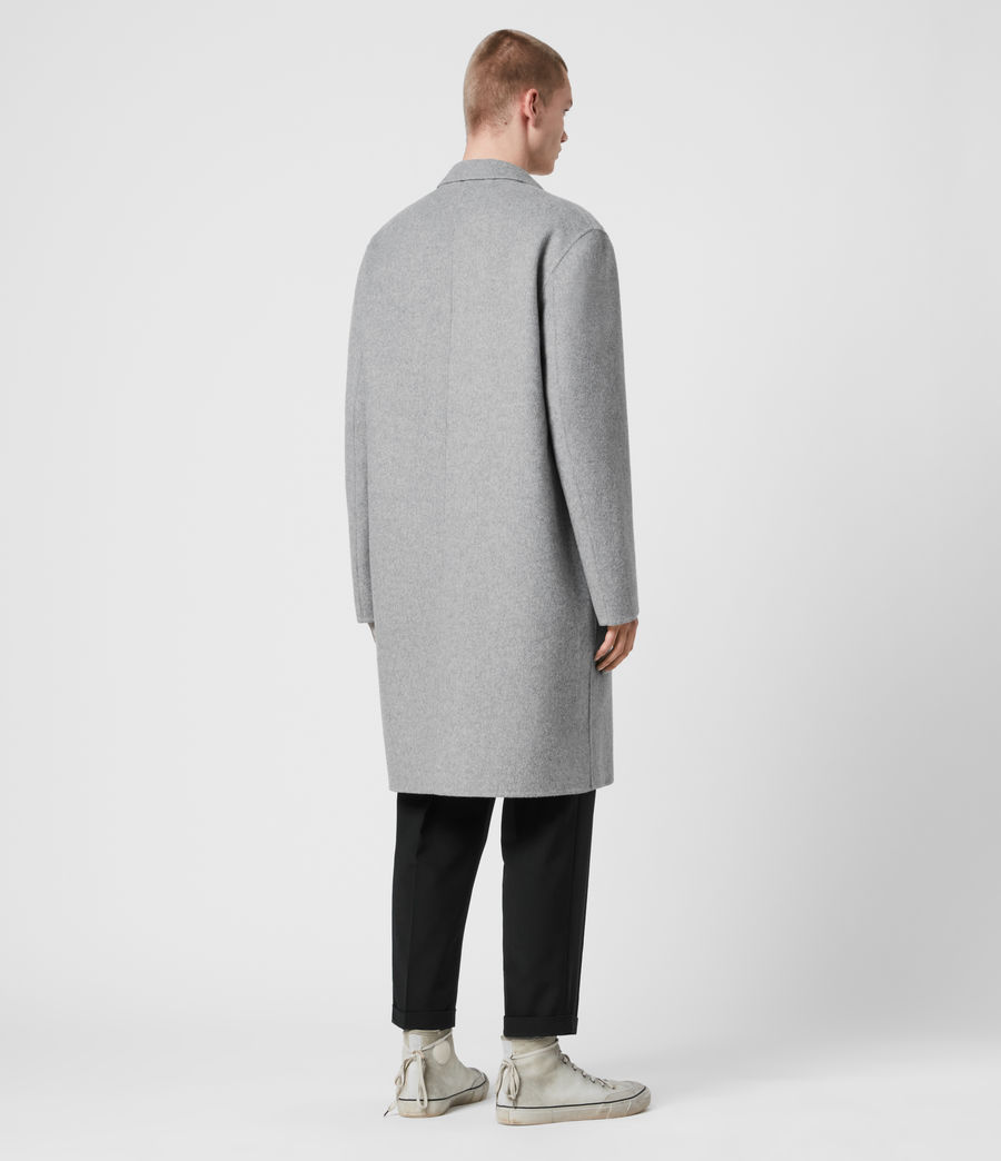 Mens Hanson Coat (light_grey_melange) - Image 4