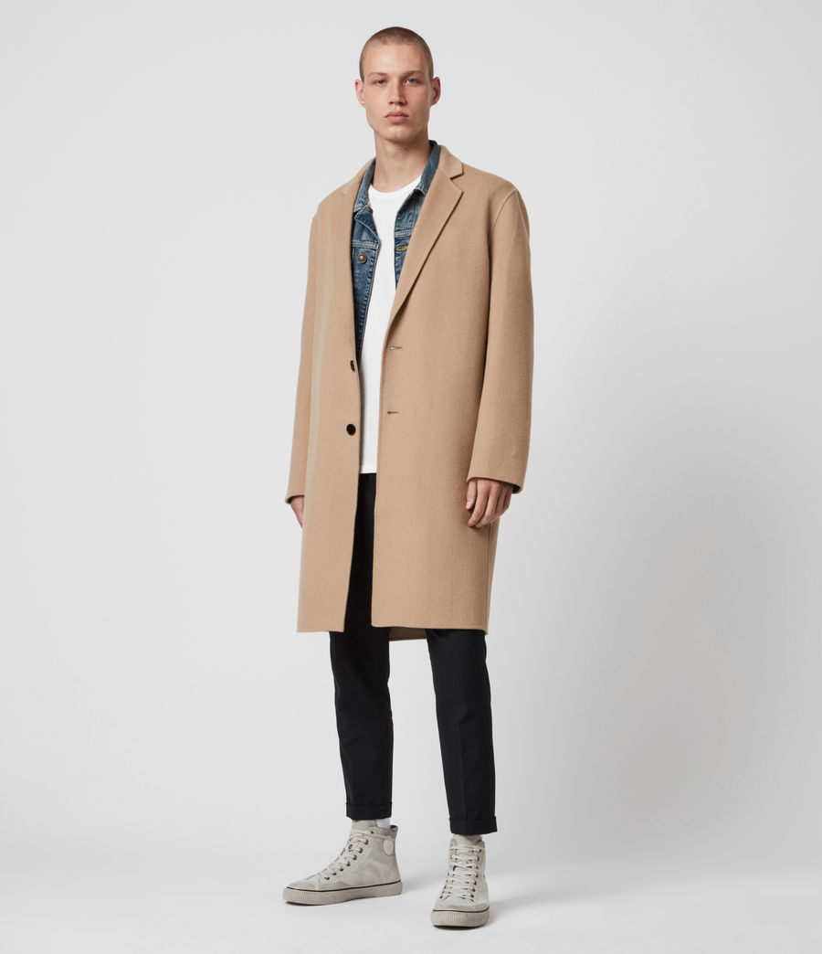 Men's Hanson Coat (light_camel) - Image 1