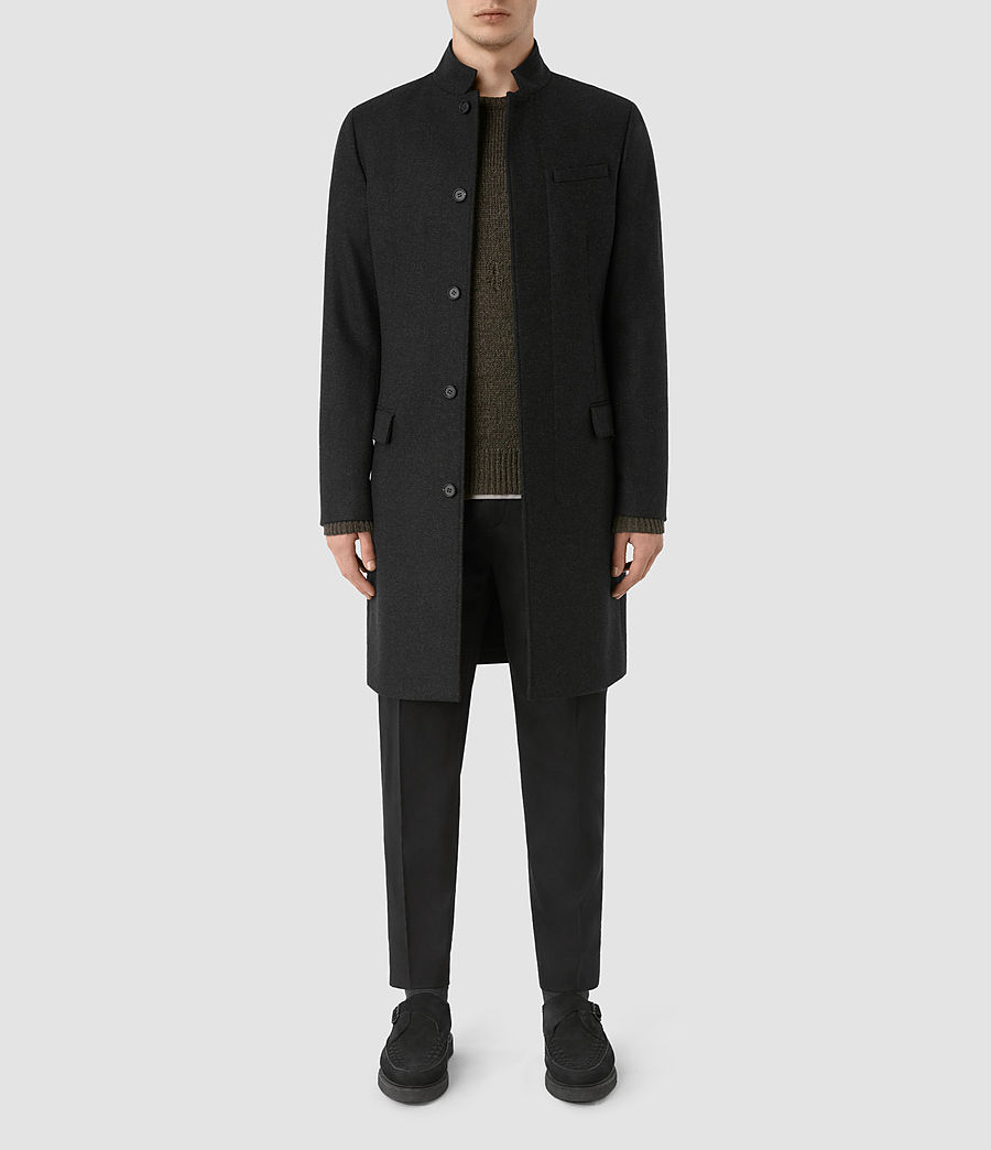 Mens Moylan Coat (charcoal) - Image 1