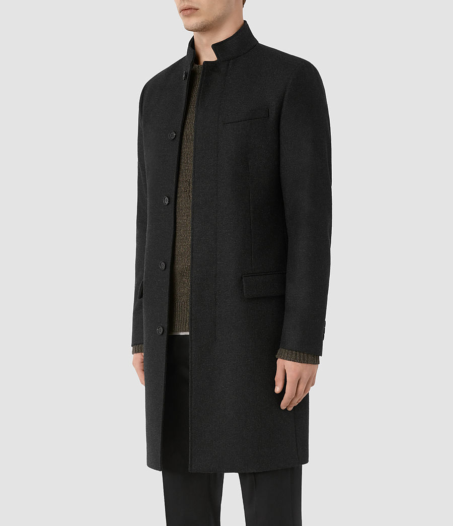 Mens Moylan Coat (charcoal) - Image 2