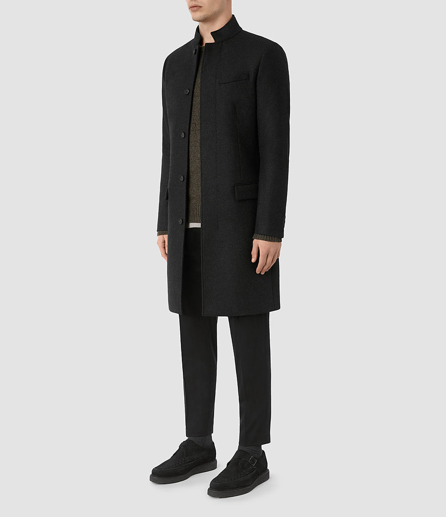 Mens Moylan Coat (charcoal) - Image 3