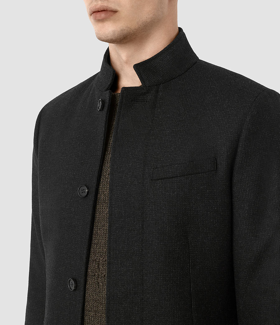 Mens Moylan Coat (charcoal) - Image 4