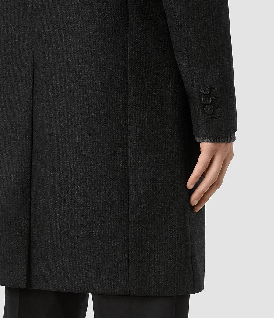 Mens Moylan Coat (charcoal) - Image 5