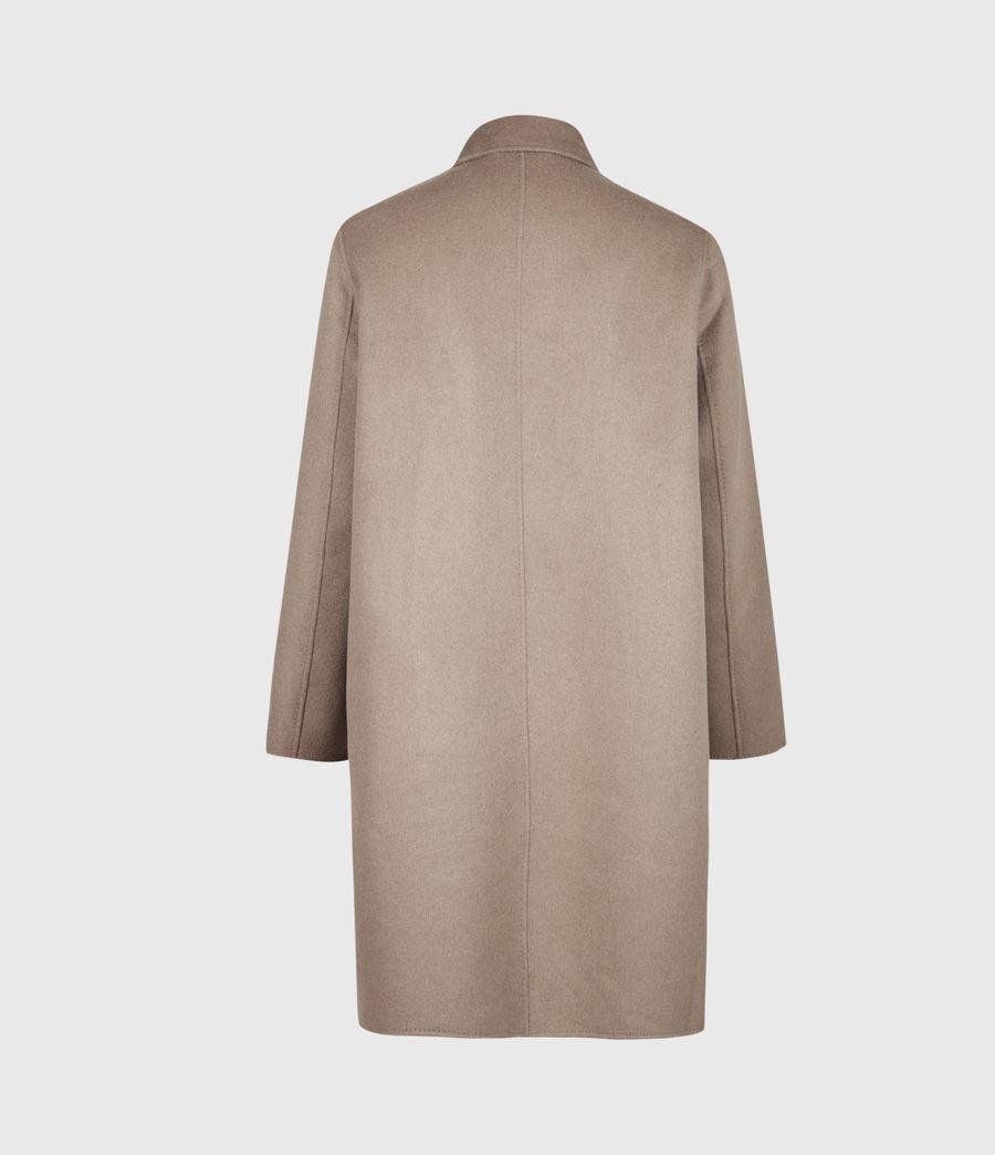 Men's Adler Wool Blend Coat (fawn_brown) - Image 3