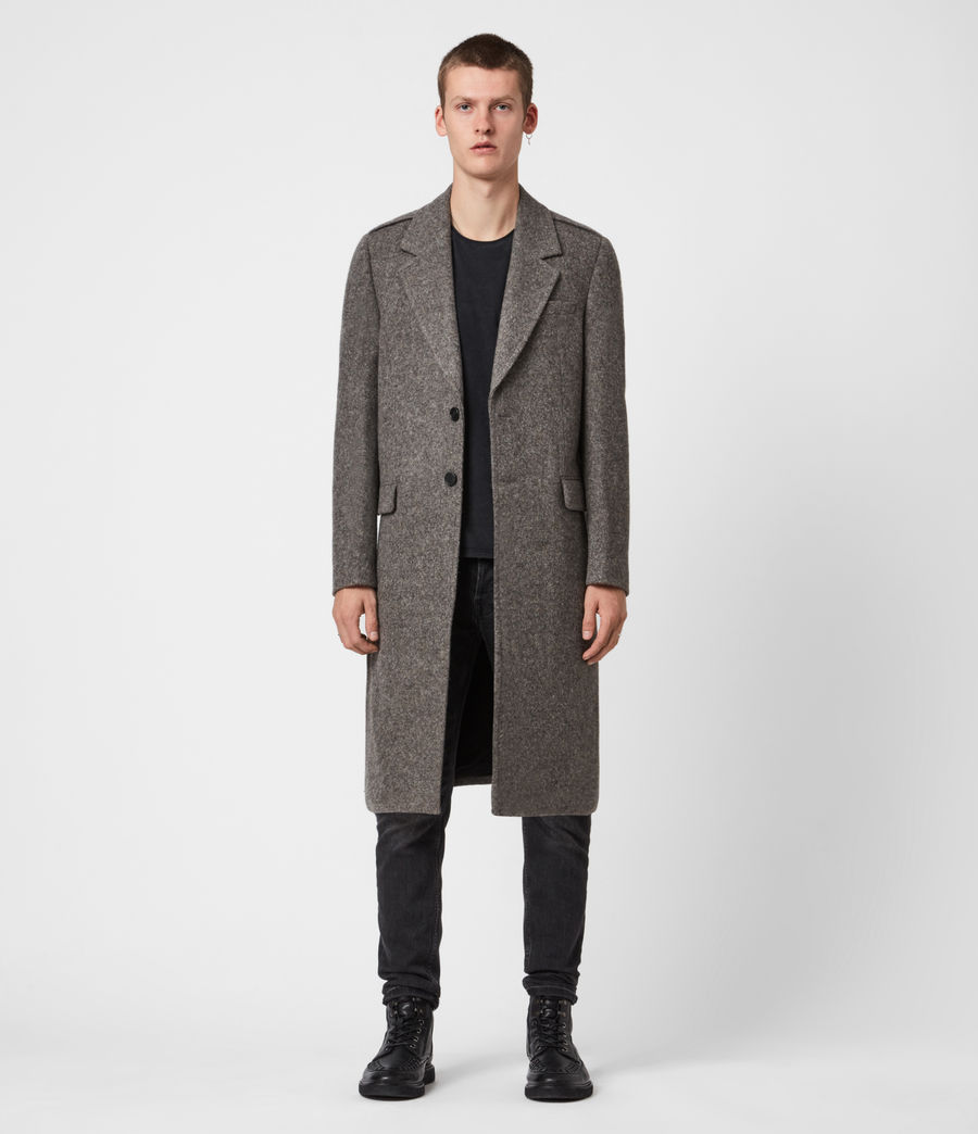 Herren Dunstan Mantel (grey) - Image 1