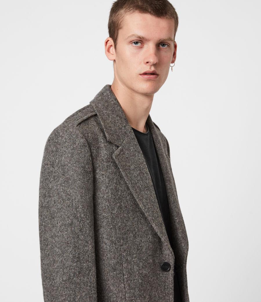 Herren Dunstan Mantel (grey) - Image 4