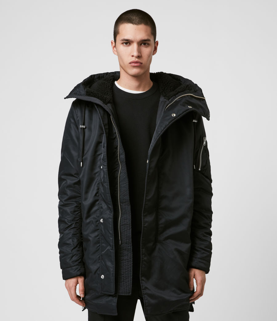 Men's Convoy Parka (black) - Image 1