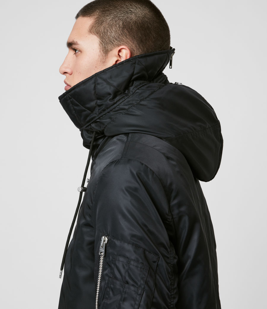 Men's Convoy Parka (black) - Image 2