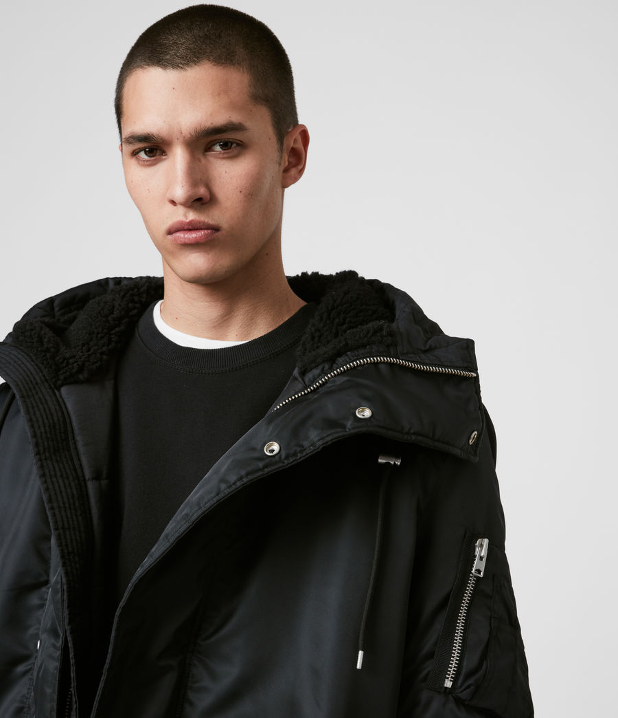 Men's Convoy Parka (black) - Image 3