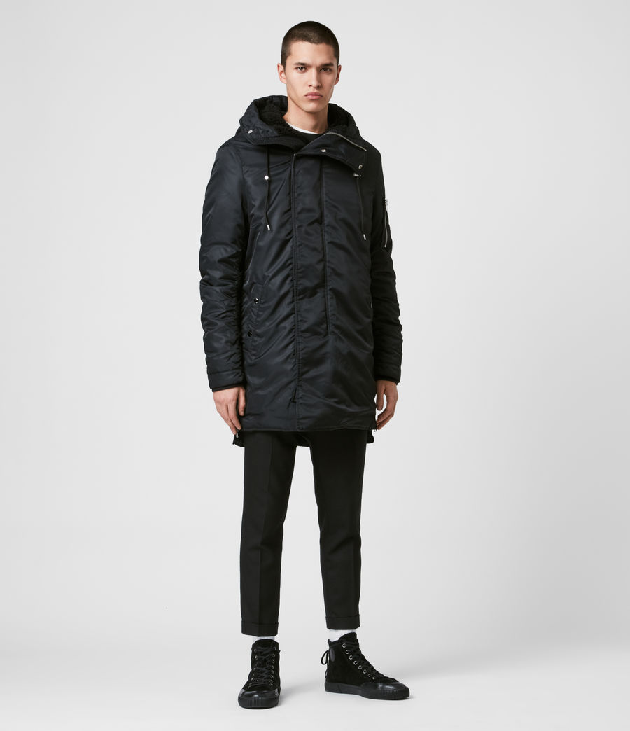 Men's Convoy Parka (black) - Image 4