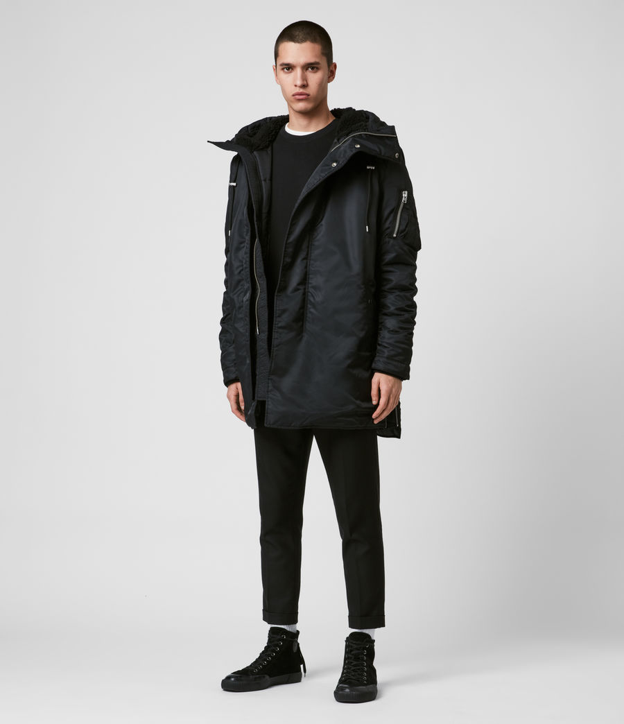 Men's Convoy Parka (black) - Image 5