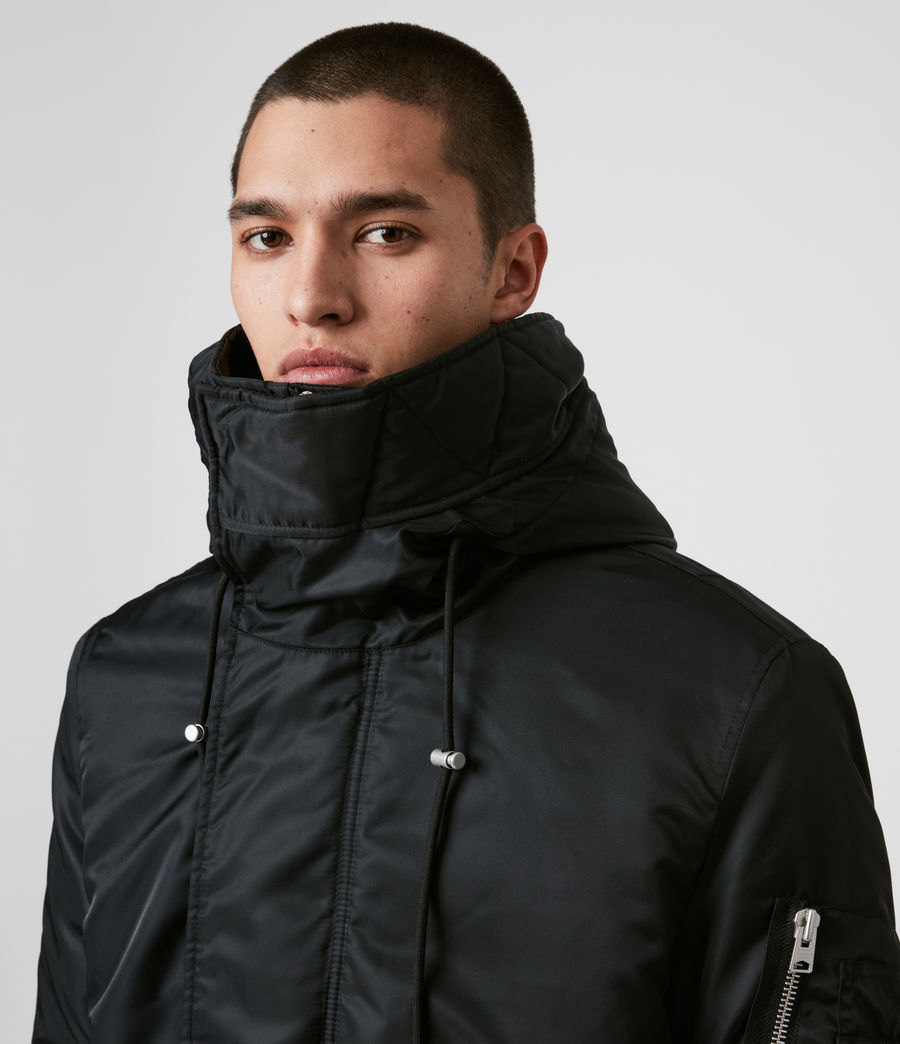 Men's Convoy Parka (black) - Image 6