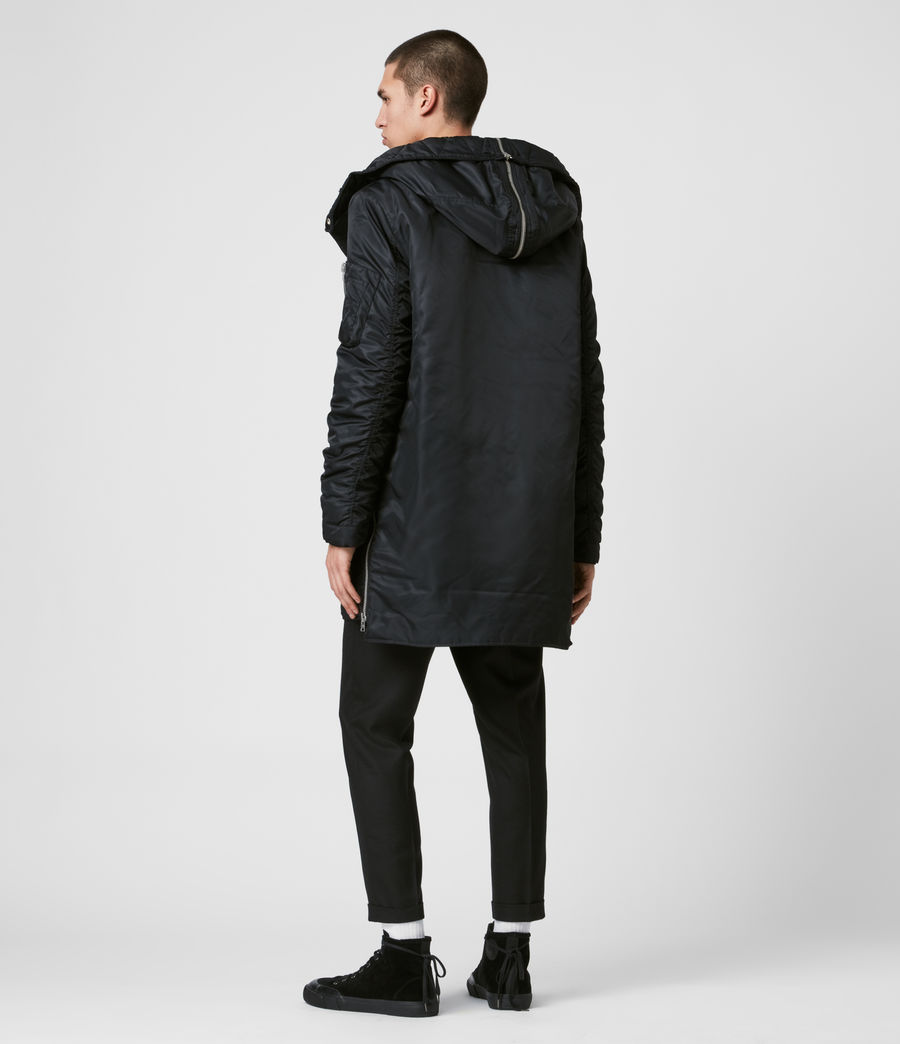 Men's Convoy Parka (black) - Image 7