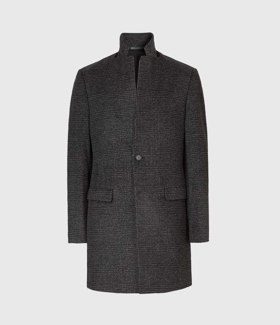 Men's Beadel Wool Blend Coat (dark_charcoal) - Image 2