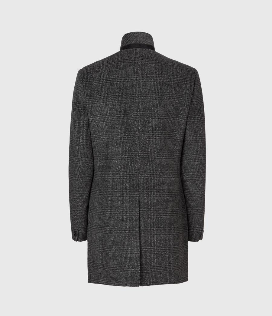 Men's Beadel Wool Blend Coat (dark_charcoal) - Image 3