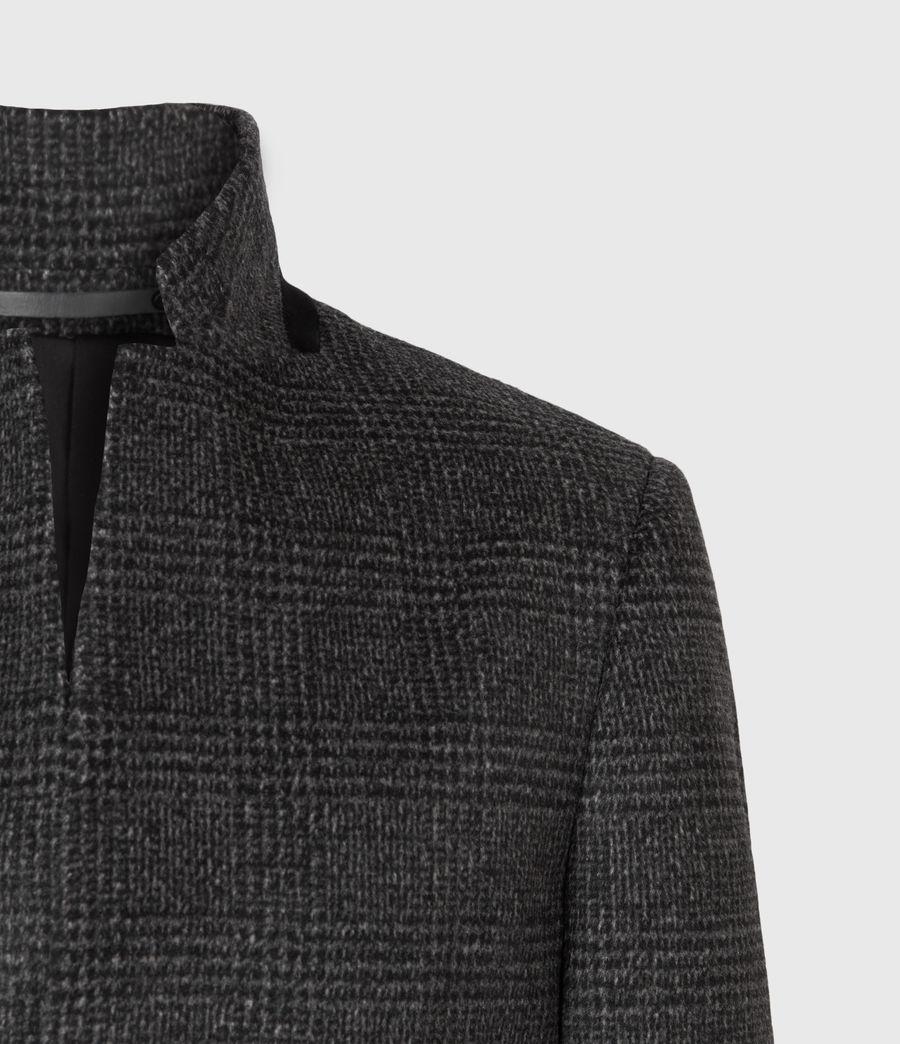 Men's Beadel Wool Blend Coat (dark_charcoal) - Image 5