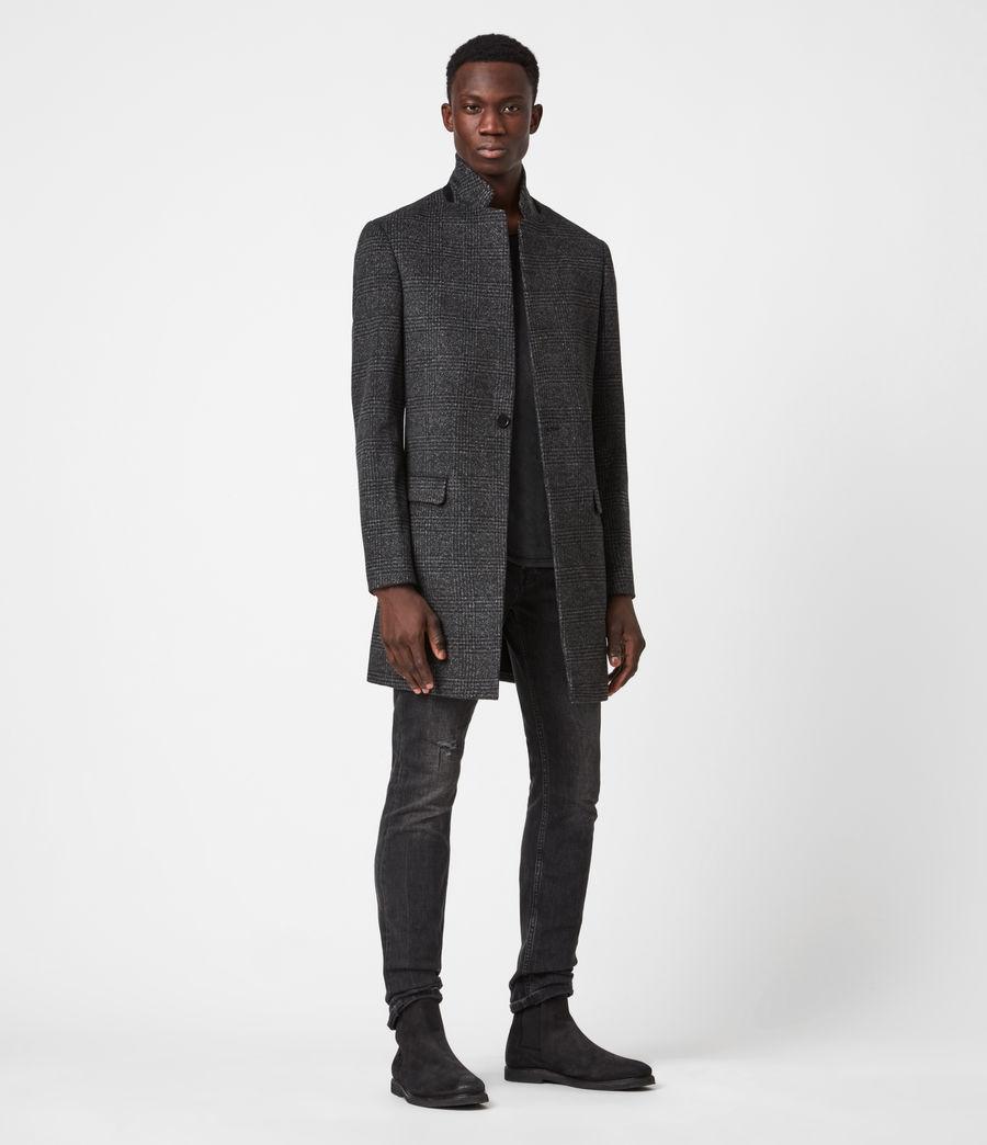 Men's Beadel Wool Blend Coat (dark_charcoal) - Image 6
