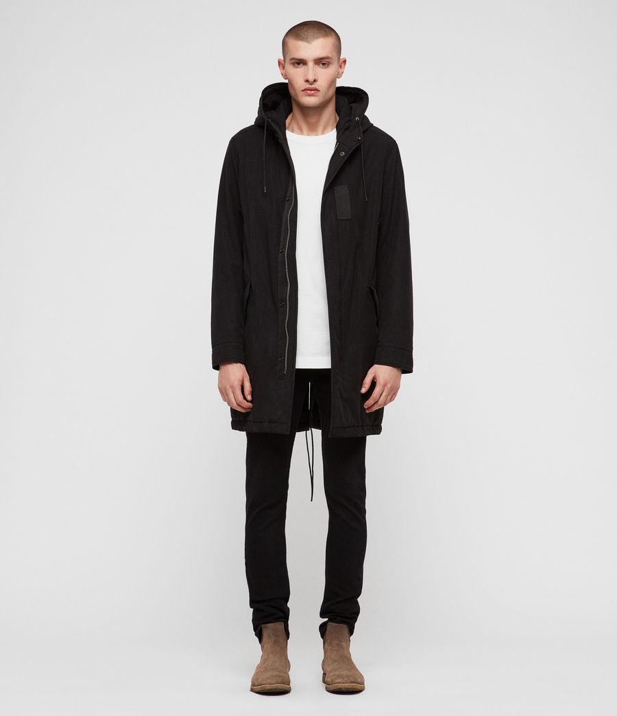 Men's Overton Parka (black) - Image 1