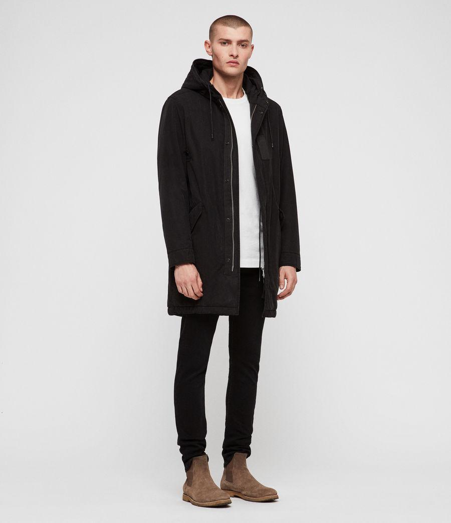 Men's Overton Parka (black) - Image 3