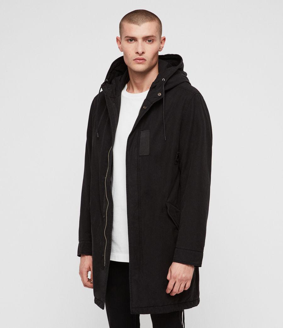 Men's Overton Parka (black) - Image 4