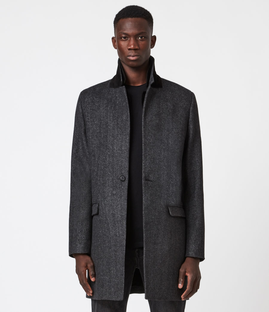 Mens Morden Coat (charcoal) - Image 1