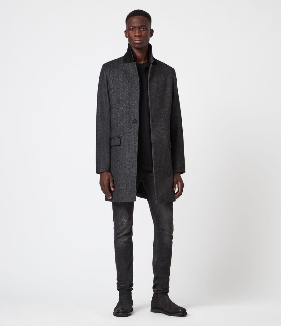 Mens Morden Coat (charcoal) - Image 4