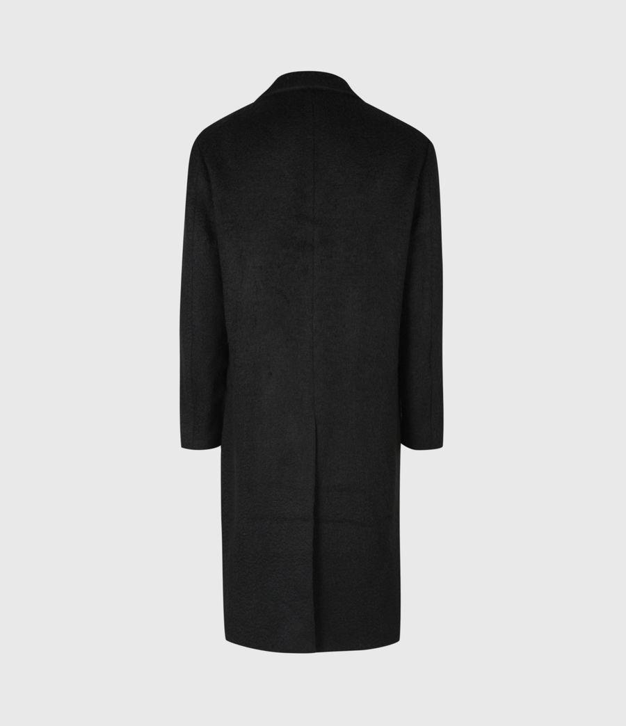 Mens Campo Wool Blend Coat (black) - Image 3
