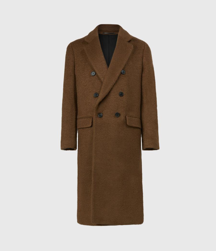 Men's Campo Wool Blend Coat (clove_brown) - Image 2