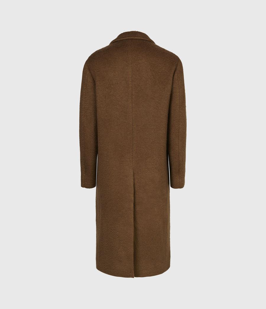 Men's Campo Wool Blend Coat (clove_brown) - Image 3