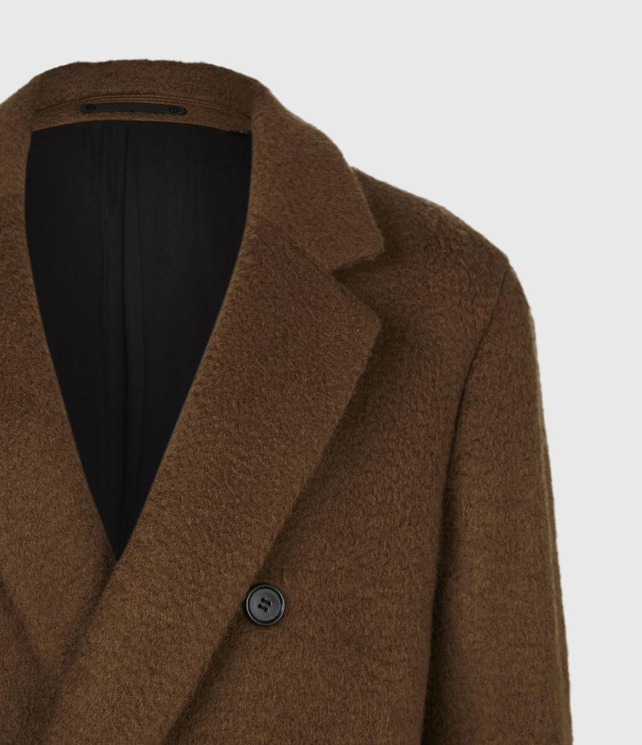 Men's Campo Wool Blend Coat (clove_brown) - Image 5