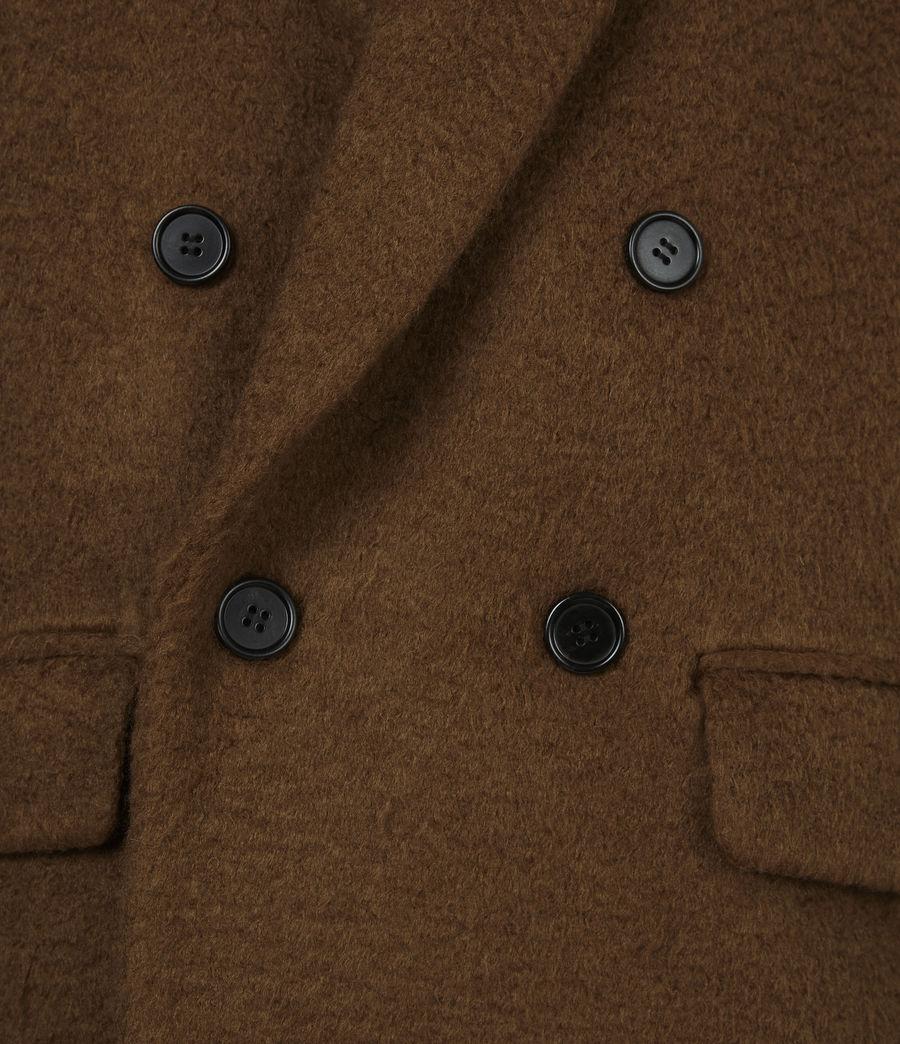 Men's Campo Wool Blend Coat (clove_brown) - Image 6