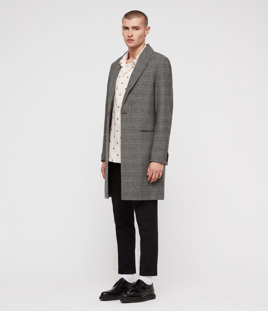 Men's Denver Coat (grey) - Image 3