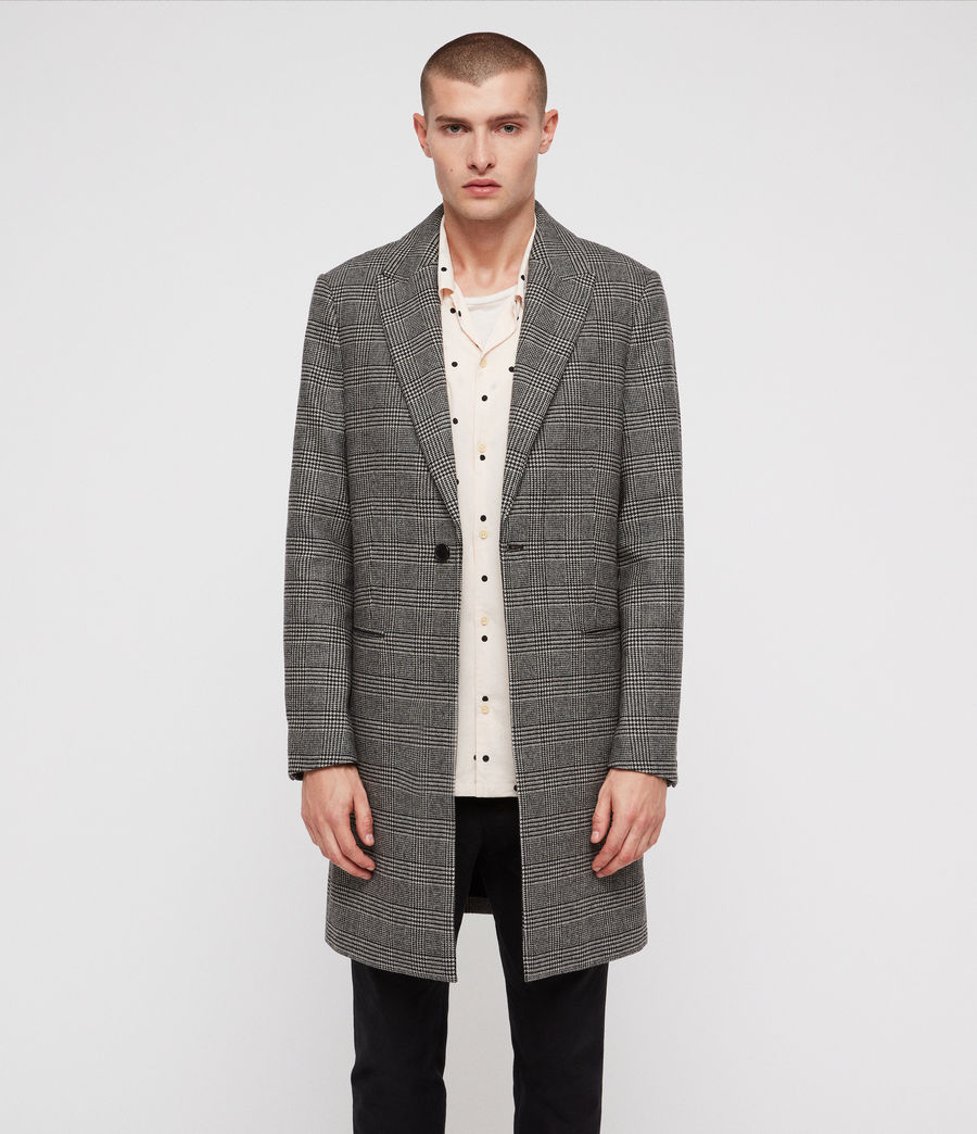 Men's Denver Coat (grey) - Image 4