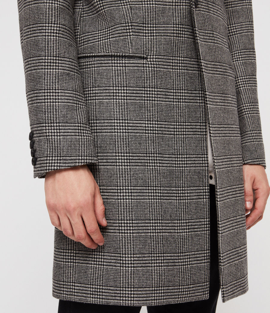 Men's Denver Coat (grey) - Image 5