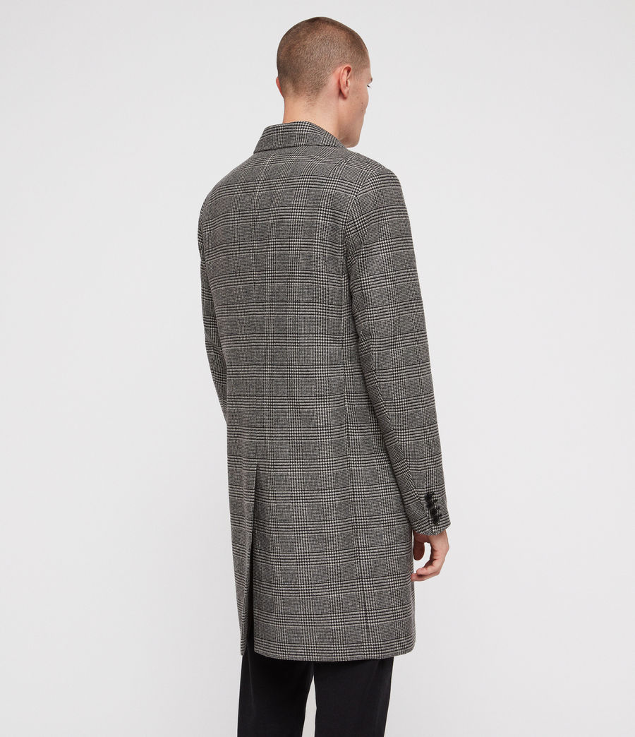 Men's Denver Coat (grey) - Image 6