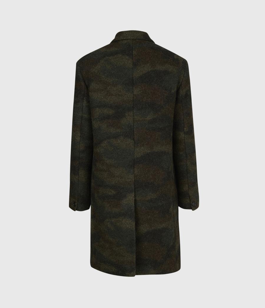 Men's Gasper Wool Blend Coat (khaki_camo) - Image 3