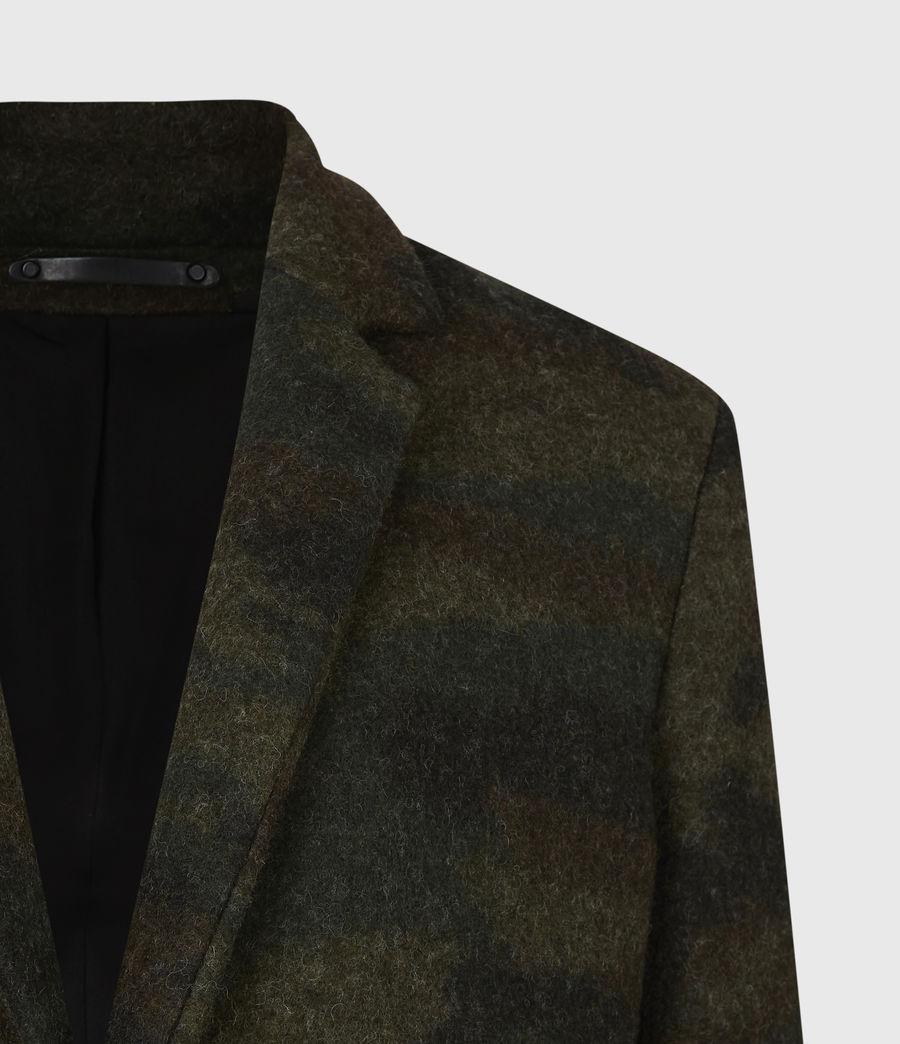 Men's Gasper Wool Blend Coat (khaki_camo) - Image 5