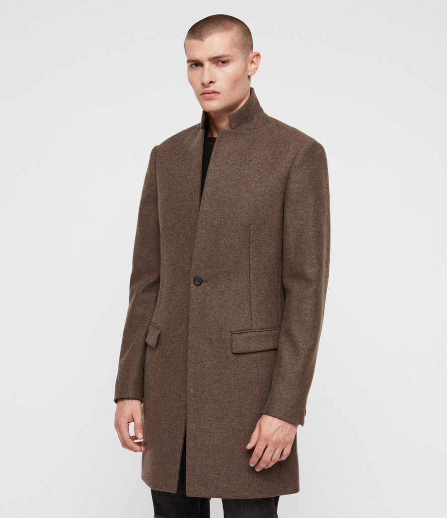 Men's Bodell Coat (ash_brown) - Image 4