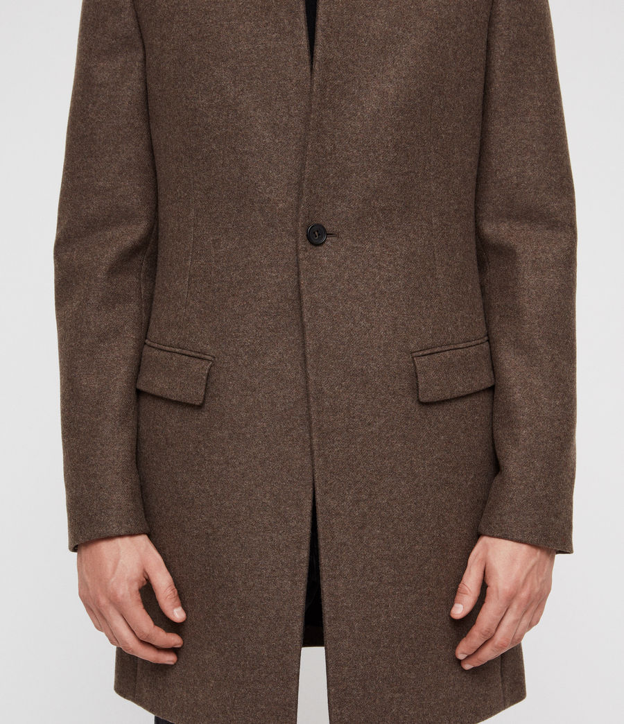 Men's Bodell Coat (ash_brown) - Image 5