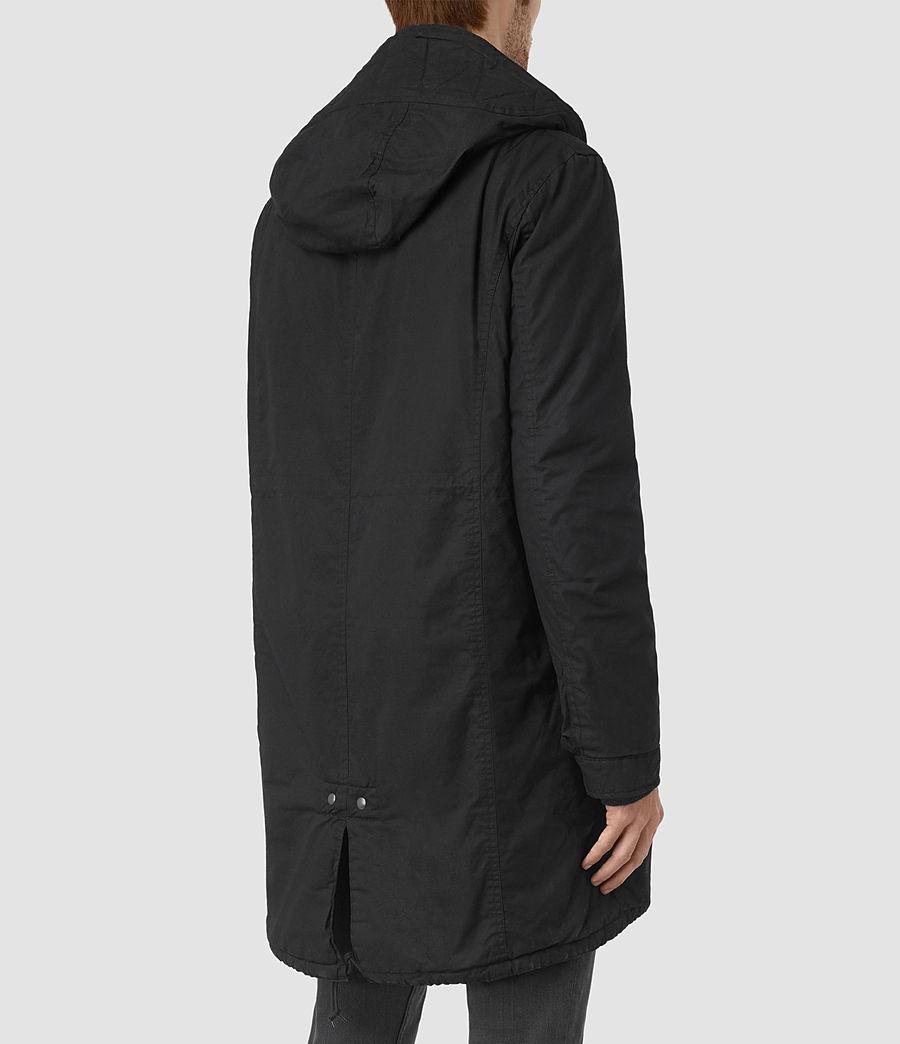 Mens Leyden Parka (black) - Image 4