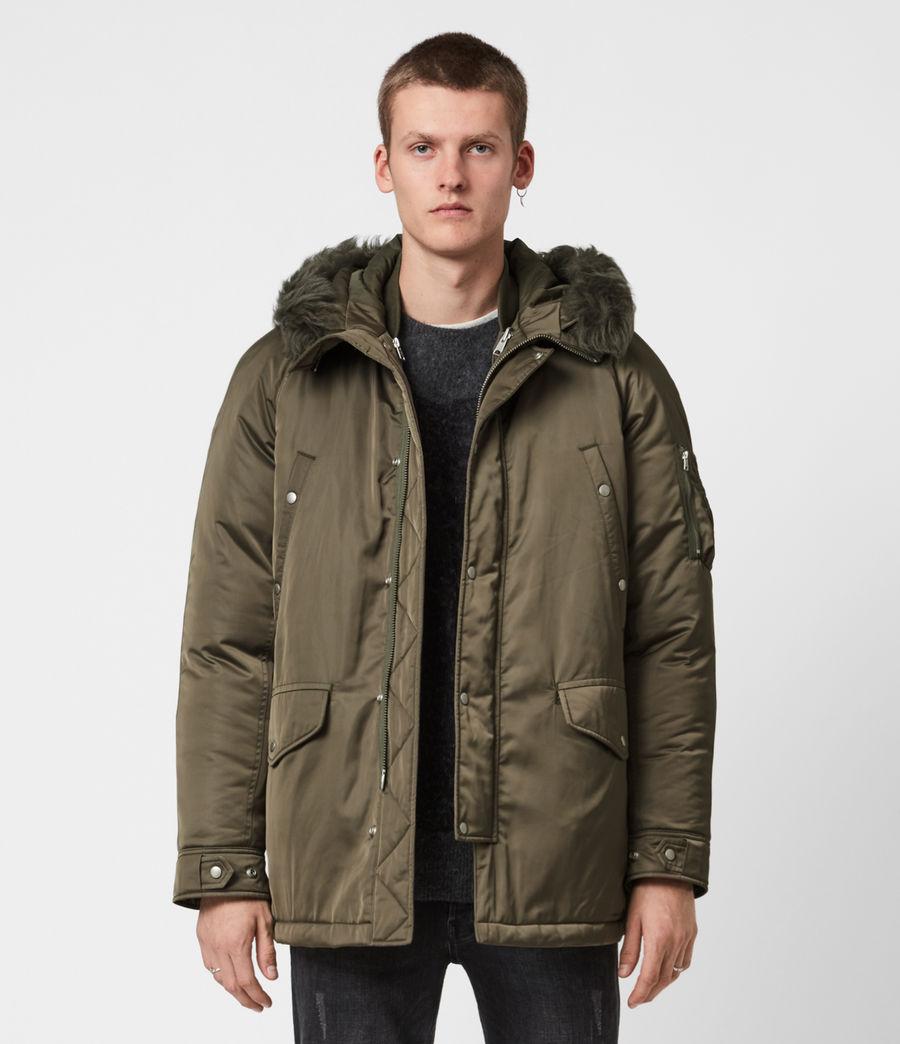 Men's Tarling Parka Coat (army_green) - Image 1