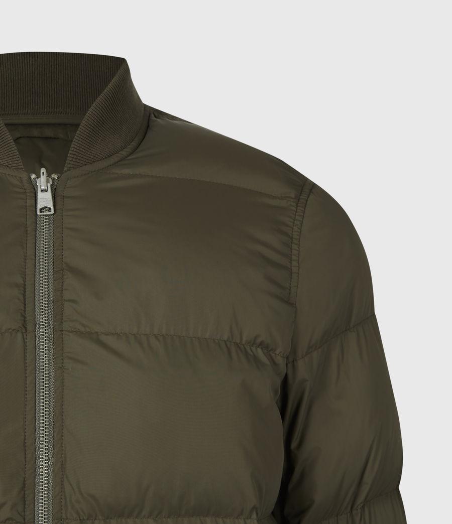 Mens Tarling Parka Coat (army_green) - Image 10