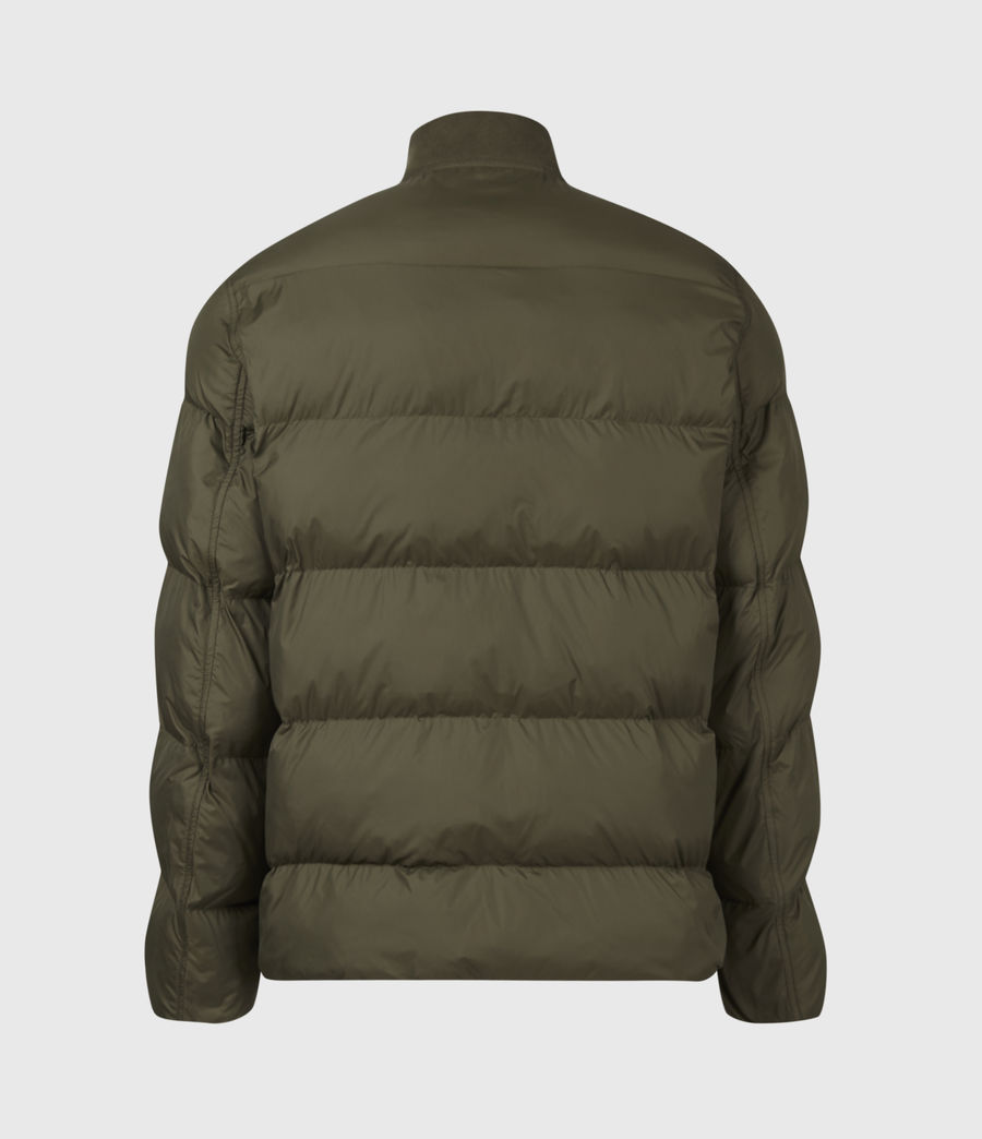 Mens Tarling Parka Coat (army_green) - Image 3